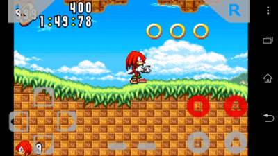 sonic n on android gameboid