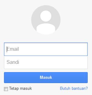 login ke gmail