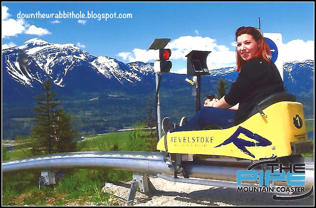 The Pipe Mountain Roller Coaster in Revelstoke, B.C. is an exhilarating ride. Down the Wrabbit Hole Travel Blog tells you what to expect and how to plan for your visit.
