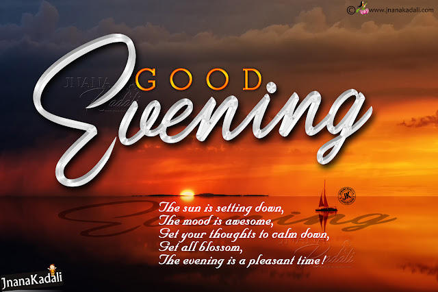 english good evening, messages on good evening in english, english messages quotes on good evening