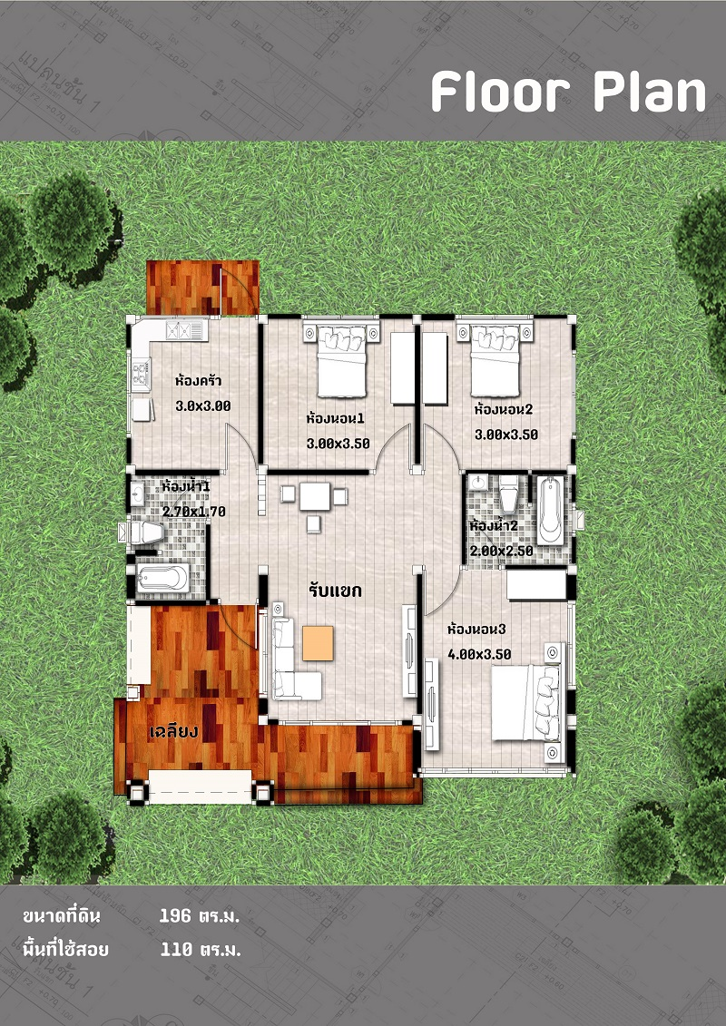 A single-story house is a popular choice for a house nowadays. It is aesthetically simple, economical, and convenient, both for the young and old dwellers.   If you have a small family, a small and simple single-story home is a practical and efficient. There are a lot of reasons why buying or building a single-story home is better. And one of them is enjoying a simple life not only now but until you grow old when climbing up and down the stairs is already difficult.  Having a single-story house doesn't mean that you have to sacrifice style and design. There are many single-story houses that are simple but beautiful for every kind of family. Here is some popular choice nowadays.