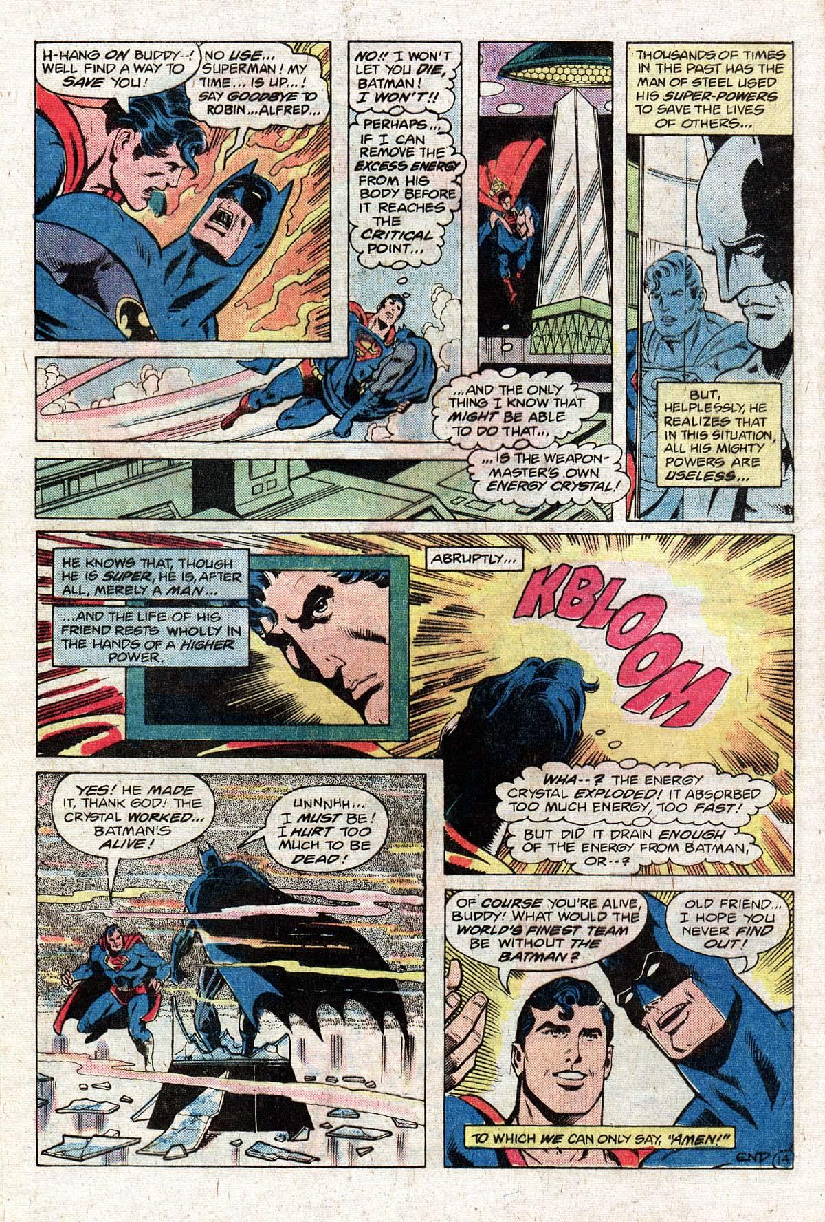 Read online World's Finest Comics comic -  Issue #274 - 16