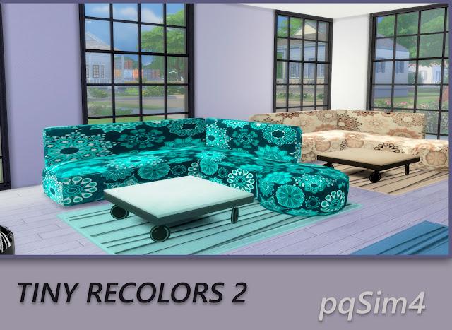 Tiny recolores 2. Sofas 3