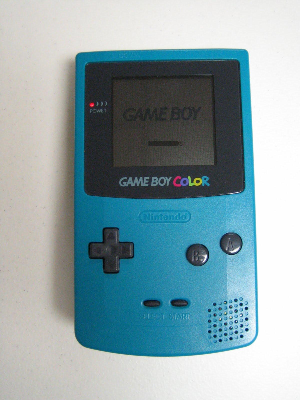 Game Boy Color Teal