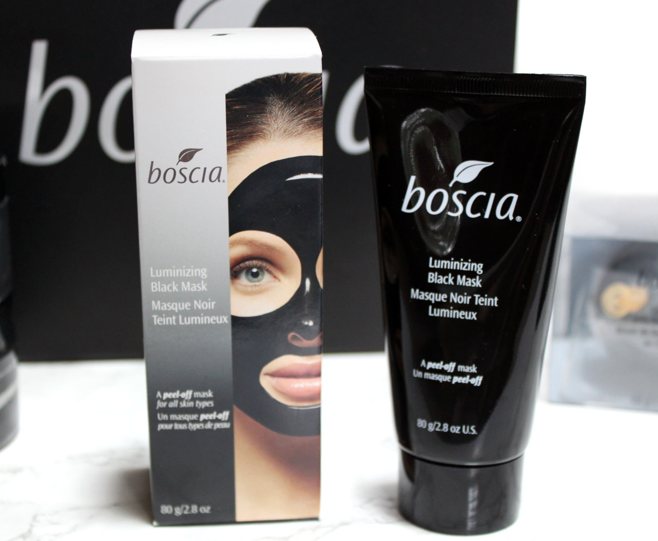 Monroe Misfit Makeup Beauty Blog Boscia Charcoal Skincare Line Review