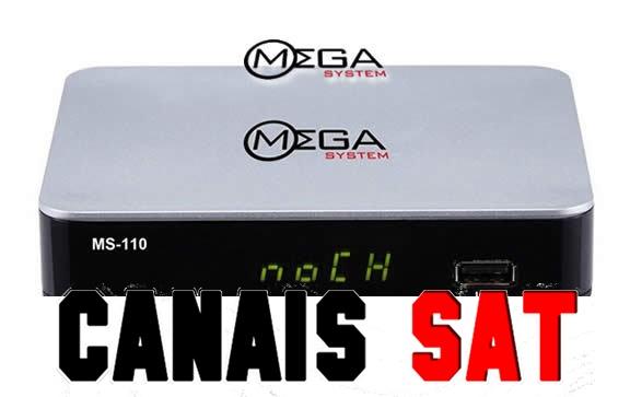 Mega System MS110 Nova Atualização V109 - 15/04/2019