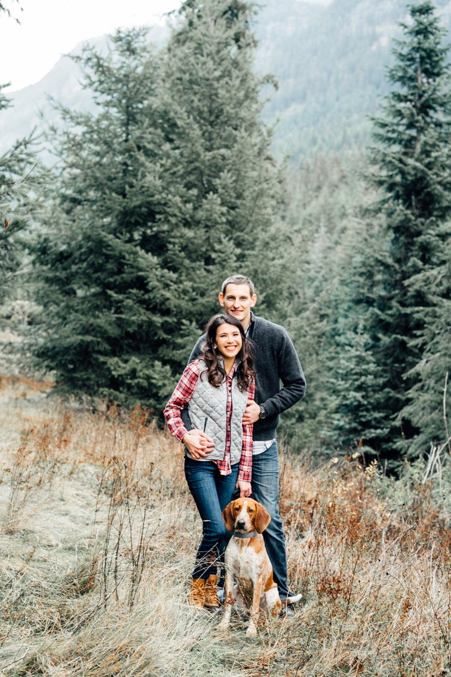 Romantic Mountain Anniversary Session by Something Minted Photography