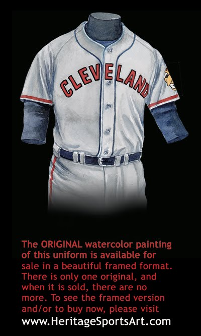 quality design 27758 b7279 Cleveland Indians Uniform and Team History | Heritage ...