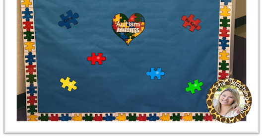 Autism Awareness Bulletin Board
