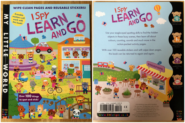 I Spy Learn And Go by Little Tiger Press UK