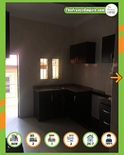 2 Bedroom Apartment (Spacious) Available at GreenField Estate at Ago Palace Way / Amuwo Odofin