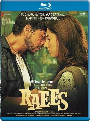 Raees Full movie Download (2016) HD 1080p & 720p BluRay