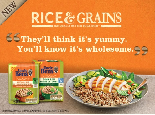 Uncle Ben's Rice & Grains Coupons