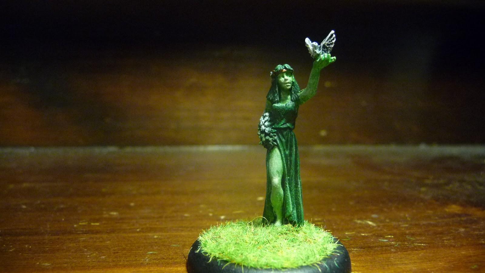 Painted Lead (Soldiers in Miniature): Virgo by Reaper ...