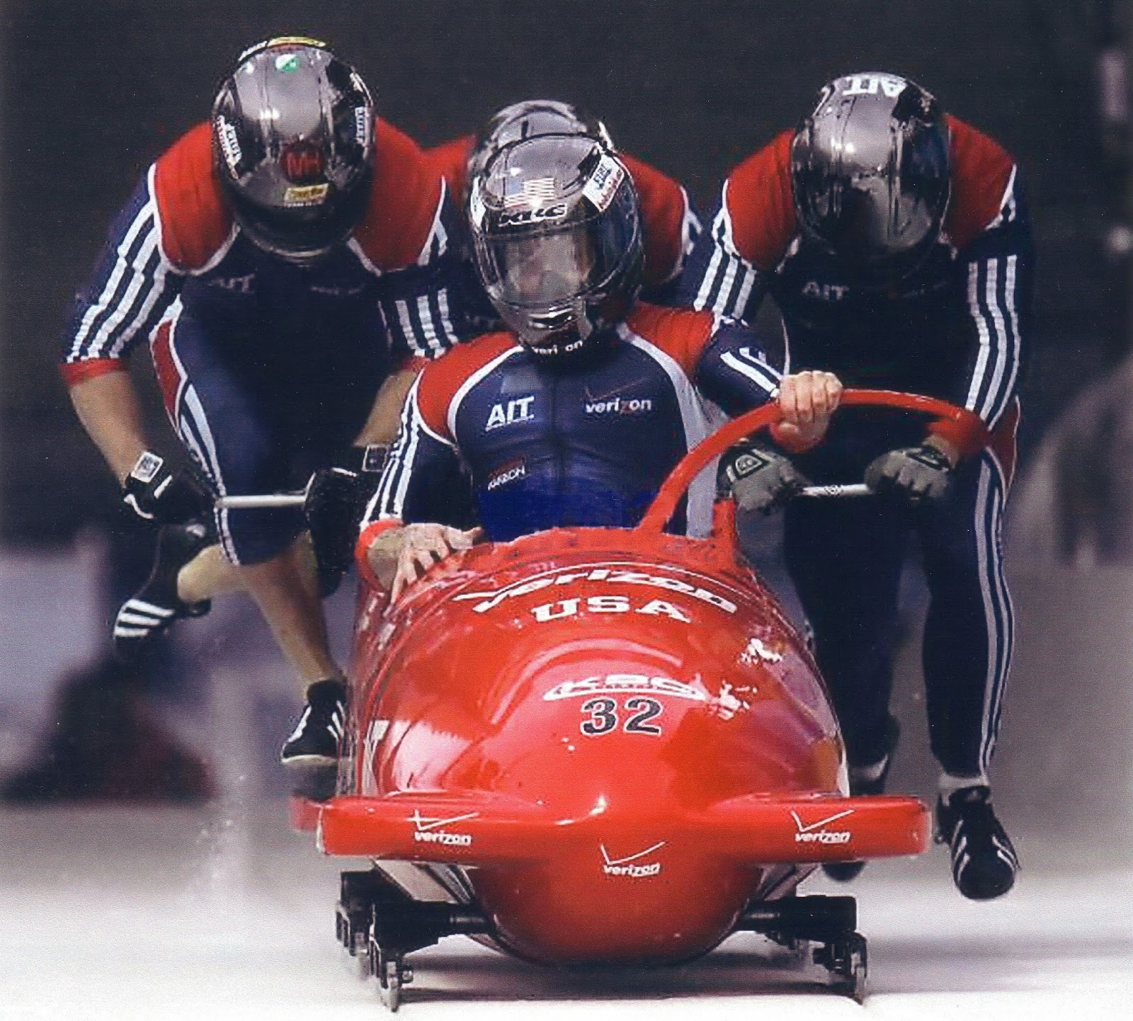 Train Out Pain Money Athletics And Bobsled
