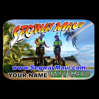 Segway tour Gift card