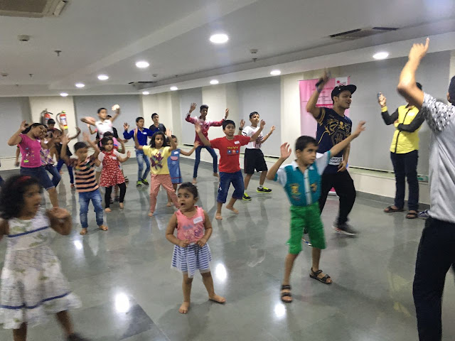 Paras Bliss Hospital, Panchkula Organizes Free Zumba Session for School Children