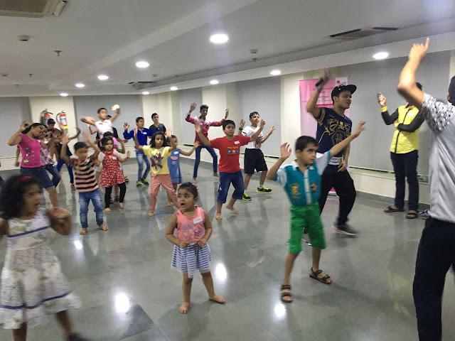 Paras Bliss Hospital, Panchkula Organizes Free Zumba Session for School Children
