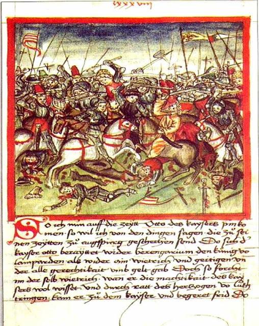 Em Lechfeld, Othon I salvou a Cristandade dos húngaros ainda pagãos