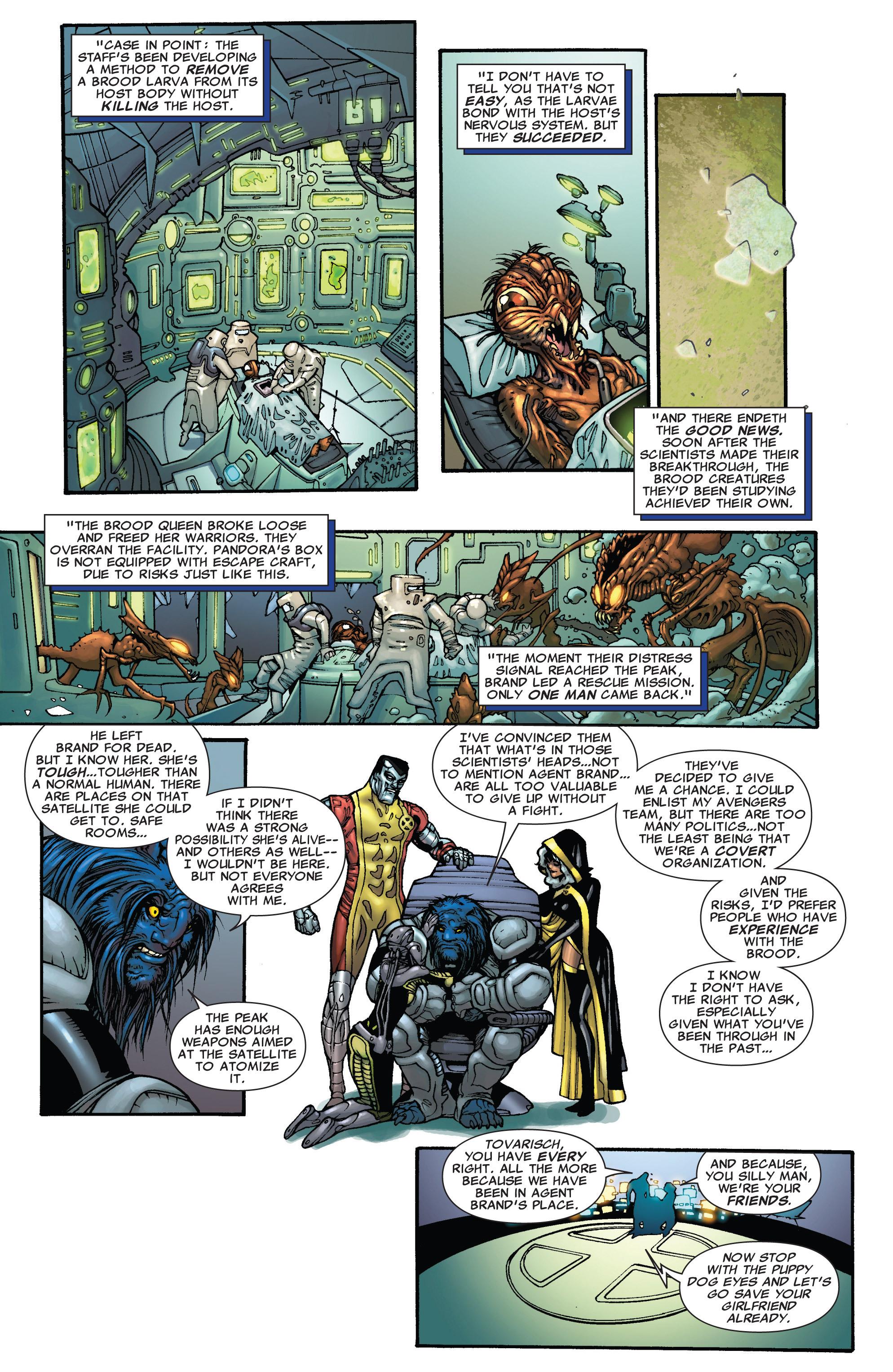 Read online Astonishing X-Men (2004) comic -  Issue #38 - 8
