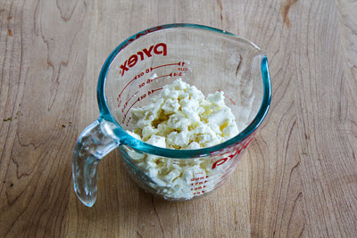 Cucumber, Avocado, and Garbanzo Salad with Feta, Lemon, and Mint found on KalynsKitchen.com