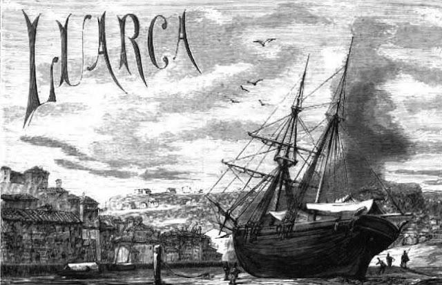 Imagen de Luarca publicada en La Ilustración Española y Americana, 30-7-1875