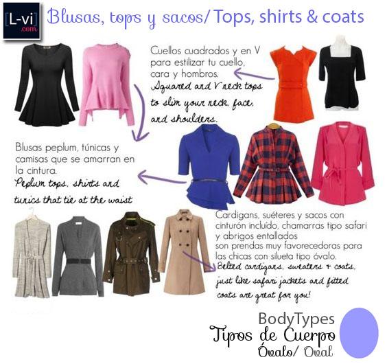 [Oval] Tops, shirts and coats.  L-vi.com