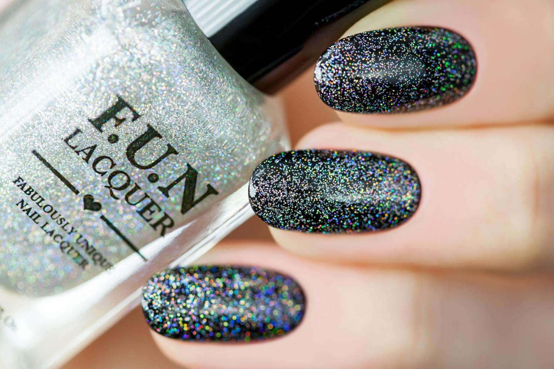 verushka\'s nails: F.U.N Lacquer Holo Topper Series