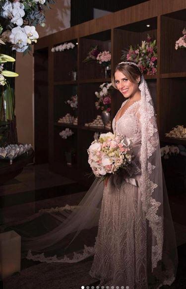 Vestido de noiva Camilla Camargo