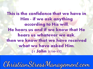 This is the confidence that we have in Him – if we ask anything according  to His will, He hears us and if we know that He hears us whatever we ask, then we know we have received what we have asked Him. (1 John 5:14-15)