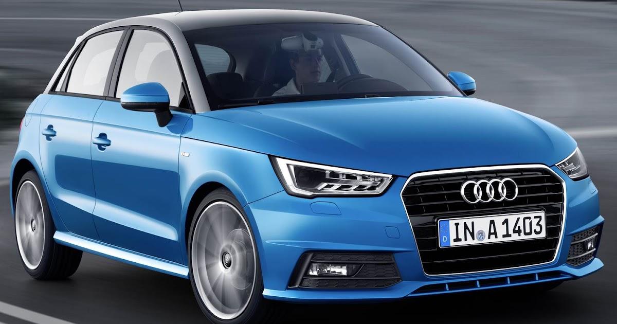 Novo Audi A1 2015 estréia motor 1.0 Turbo com 95 cavalos
