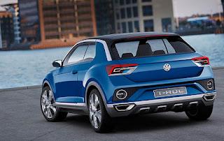 Volkswagen T-Roc Convertible Concept Rear