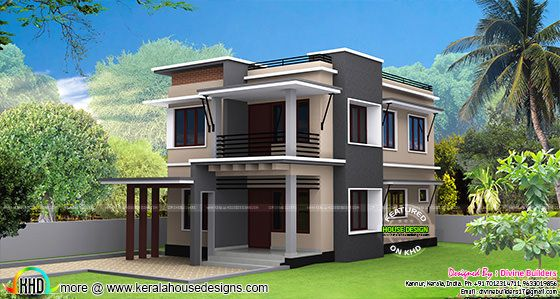 30 Lakhs Rupees cost estimated modern house