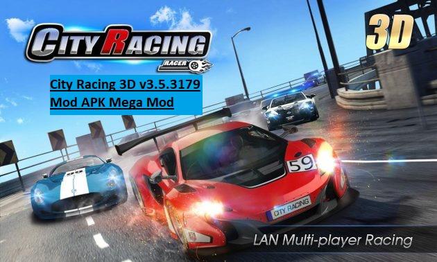 City Racing 3D v3.5.3179 Mod APK Mega Mod