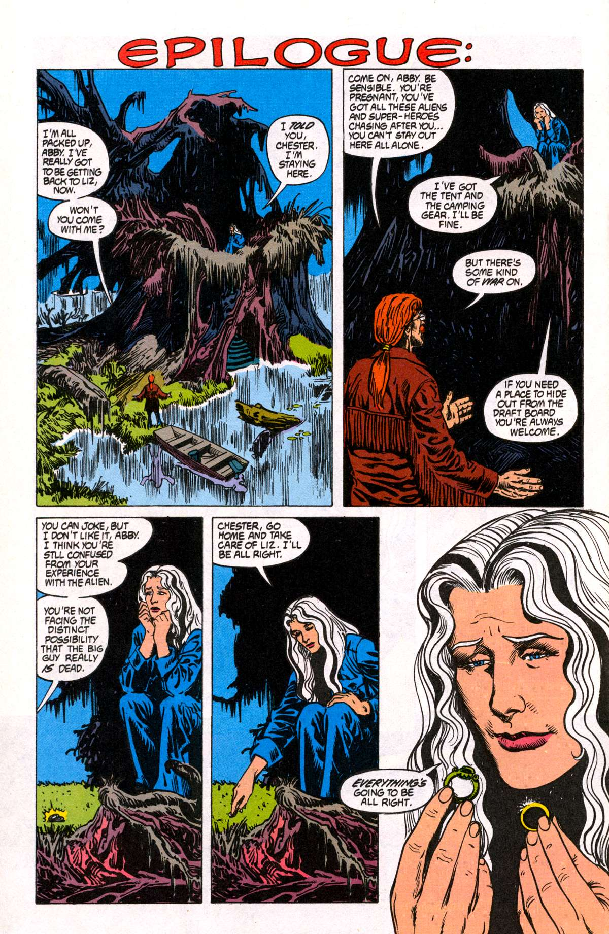 Swamp Thing (1982) Issue #81 #89 - English 25