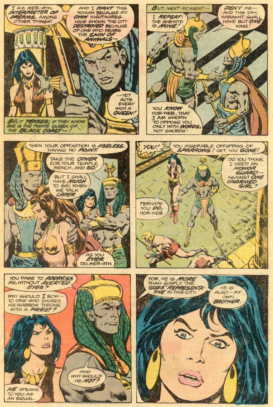 Conan the Barbarian (1970) Issue #76 #88 - English 7