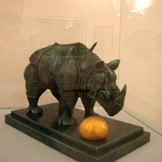 Носорог Сальвадора Дали