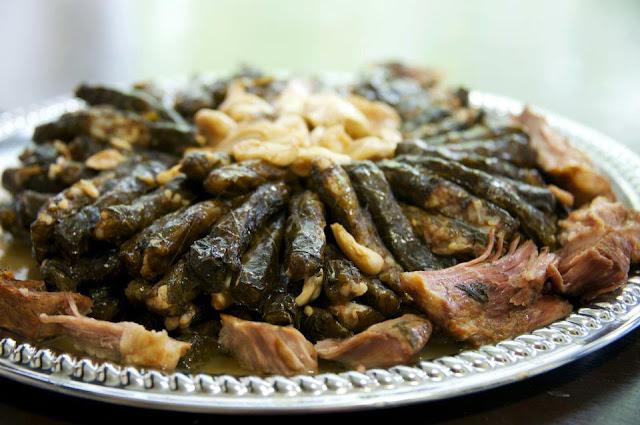 Yabrak (Stuffed Grape Leaves)