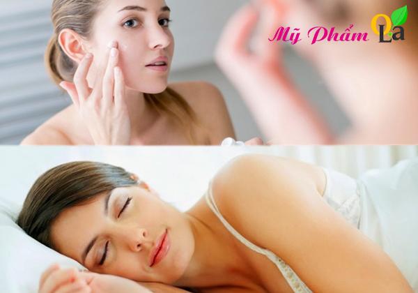 Dưỡng da mặt mỗi tối trước khi đi ngủ