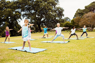 "Gina Clarke says yoga can be a ""very grey area,"" which is why she wanted the religious accommodation for her kids.  (DREAMSTIME / TNS)"