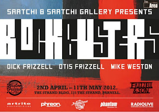Frizzell Blockbusters Exhibition Poster