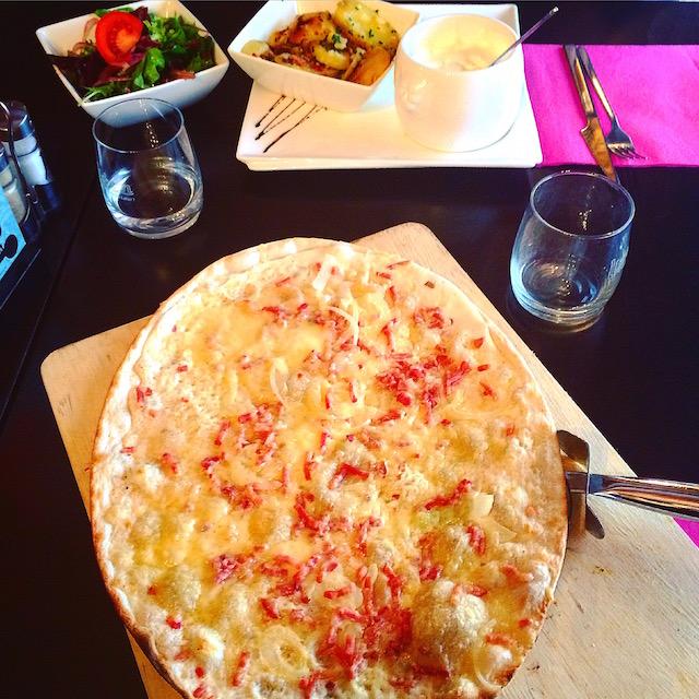 Flammekueche cuisine alsacienne