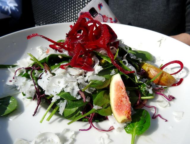 Delfts Blauw Salad - Van der Valk Hotel Restaurant Vianen in Utrecht, Netherlands