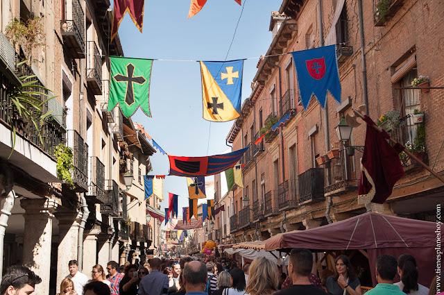 Mercado medieval cervantino alcala de henares