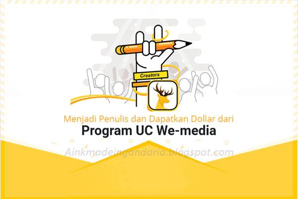cara mudah daftar program Ucweb media 2017 pasti diterima sukses