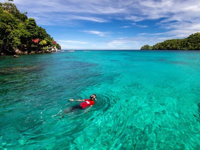Destinasi Wisata Pantai Iboih Pulau Weh