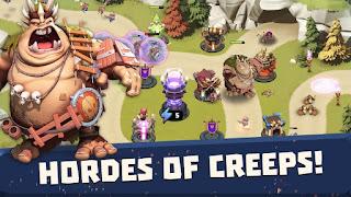 مهكرة  اموال Castle-Creeps-TD لعبة