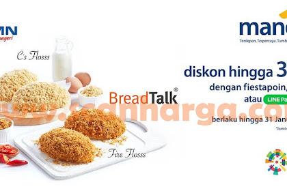 Promo Breadtalk Bakery Terbaru Januari 2019