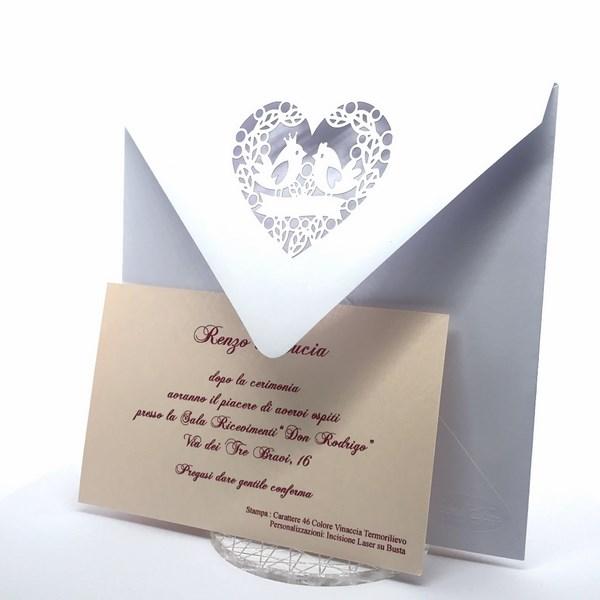 Le Frufrù Inviti Matrimonio E Partecipazioni Taglio Laser Il Modo