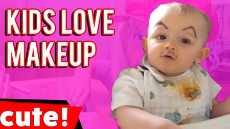 Kids Love Makeup | Cutest Kids Compilation